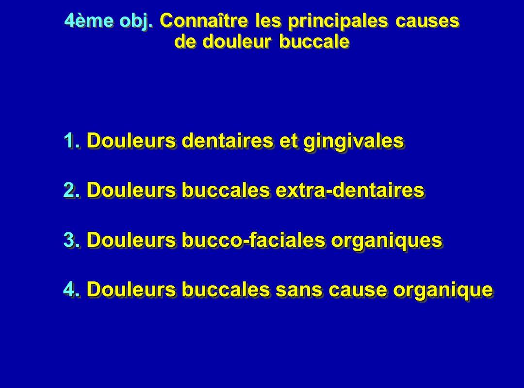 4ème obj. Connaître les principales causes