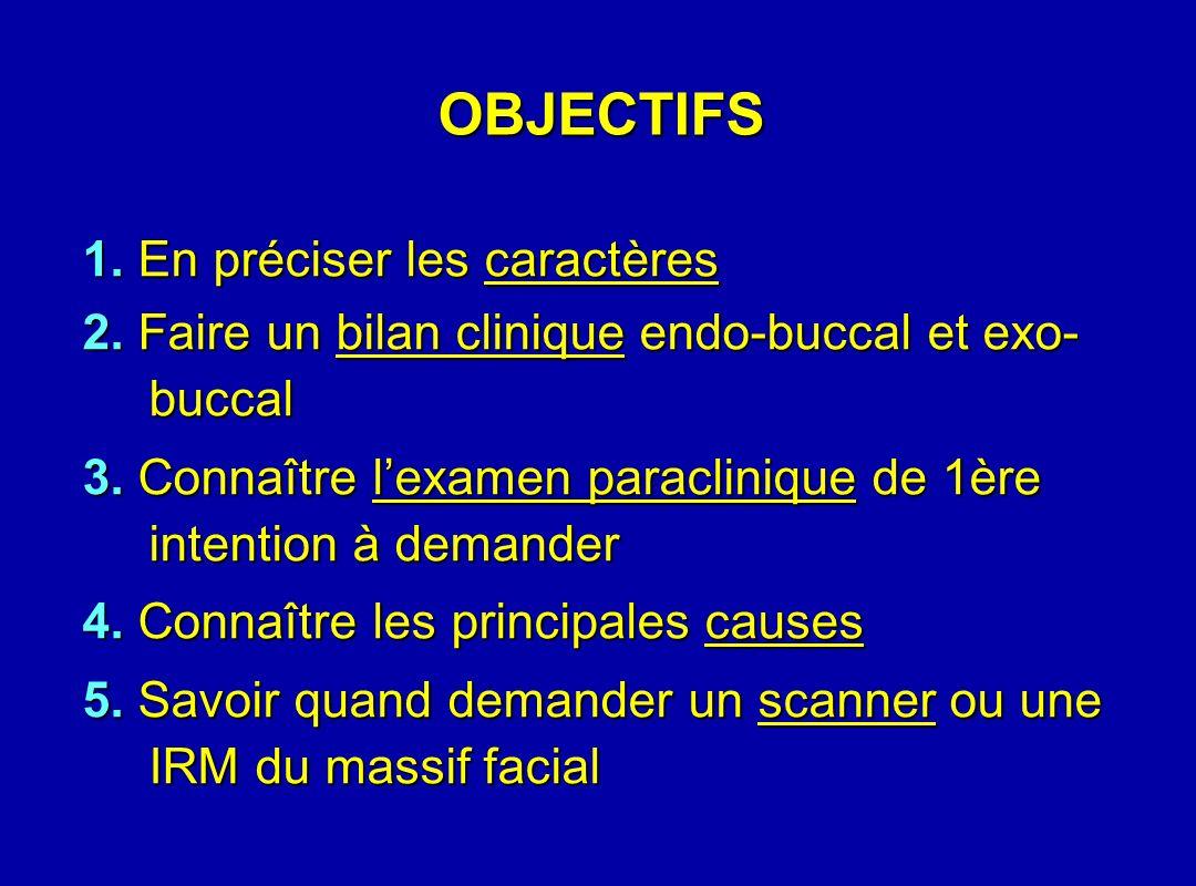OBJECTIFS 1. En préciser les caractères