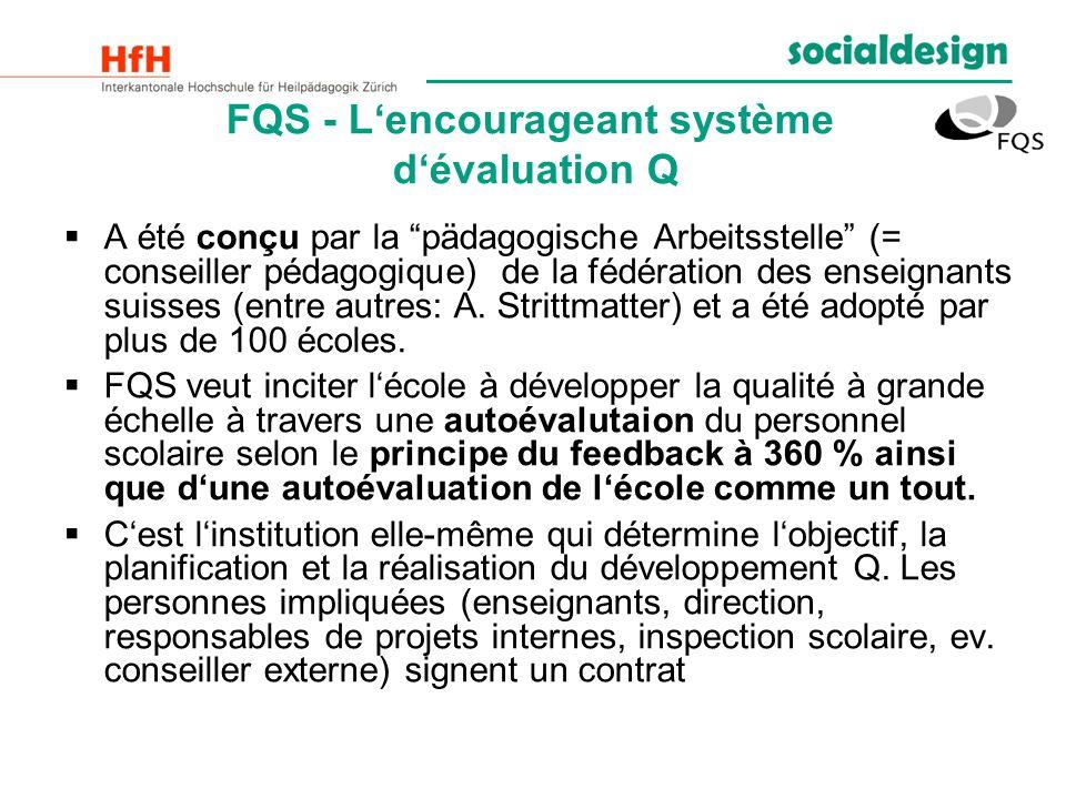 FQS - L'encourageant système d'évaluation Q