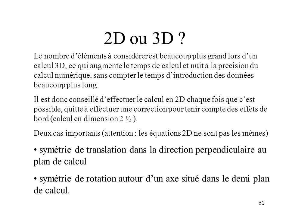 2D ou 3D