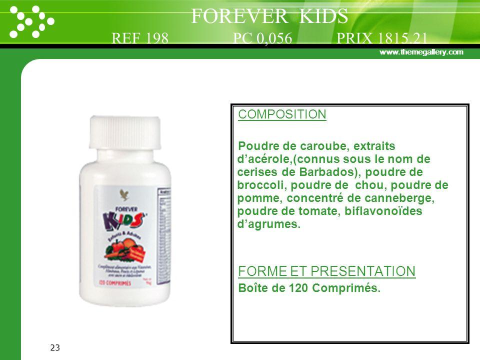 FOREVER KIDS REF 198 PC 0,056 PRIX 1815.21