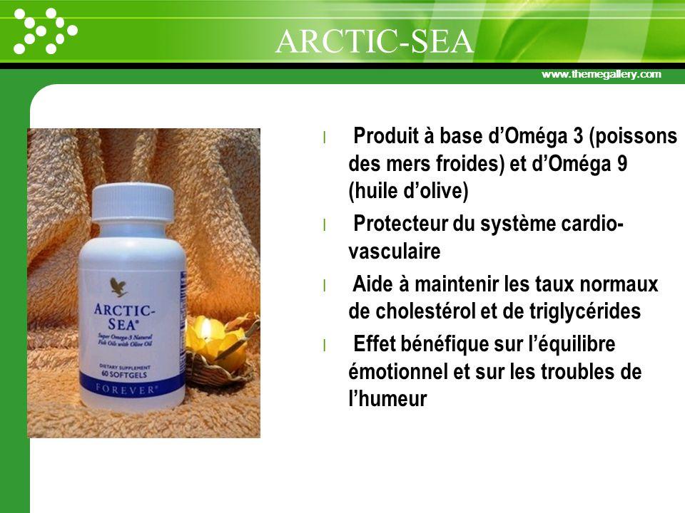 ARCTIC-SEA Produit à base d'Oméga 3 (poissons des mers froides) et d'Oméga 9 (huile d'olive) Protecteur du système cardio-vasculaire.