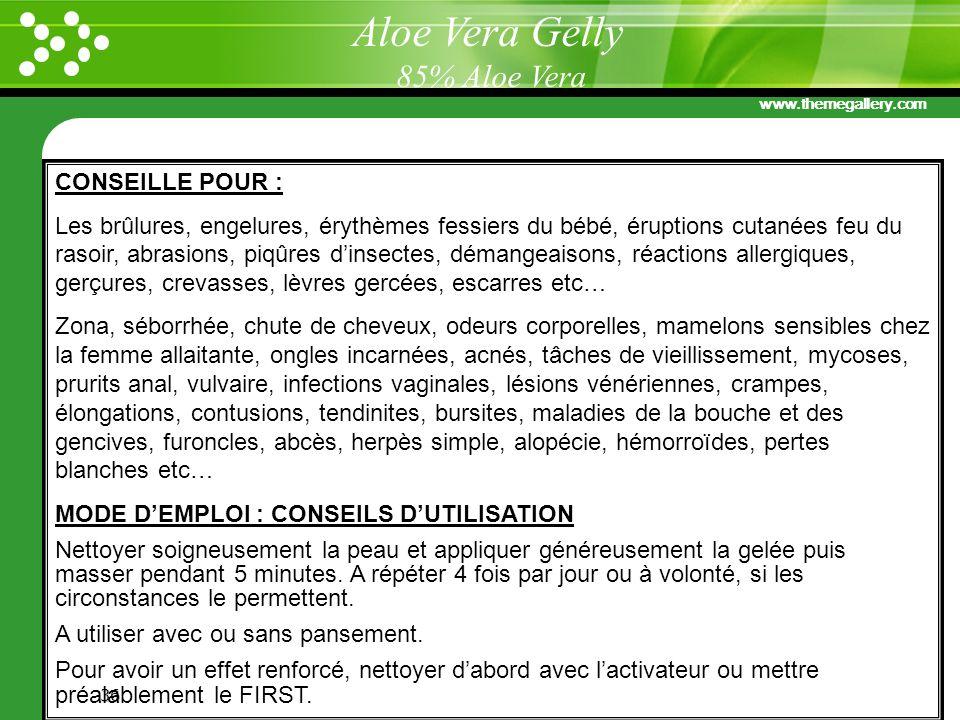 Aloe Vera Gelly 85% Aloe Vera