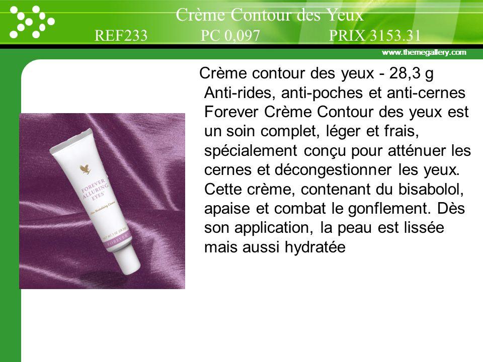 Crème Contour des Yeux REF233 PC 0,097 PRIX 3153.31
