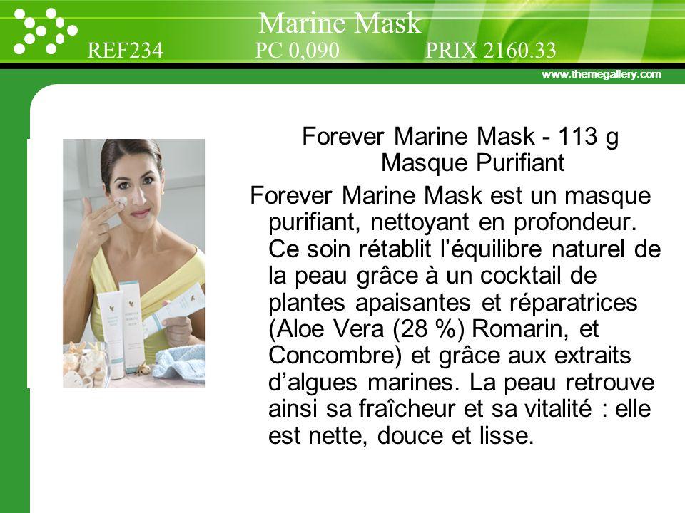 Forever Marine Mask - 113 g Masque Purifiant