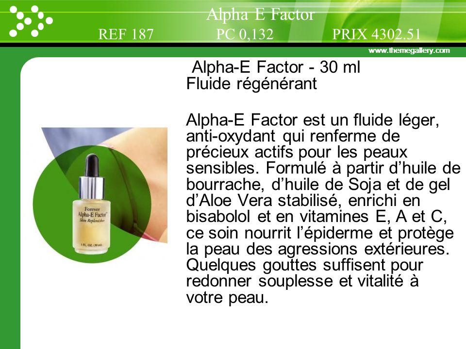 Alpha E Factor Alpha-E Factor - 30 ml Fluide régénérant