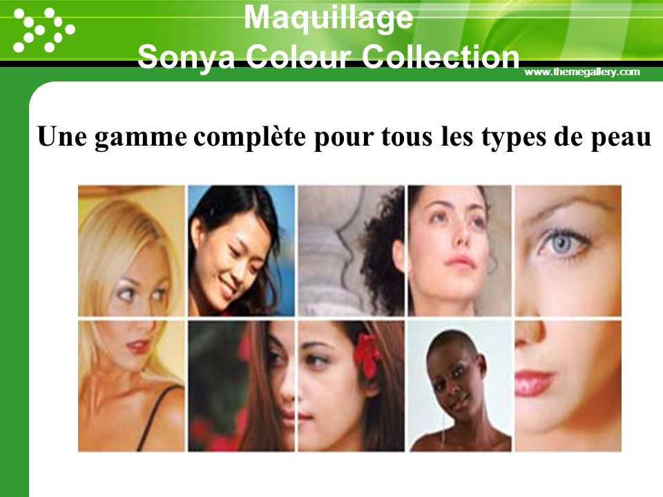 Maquillage Sonya Colour Collection