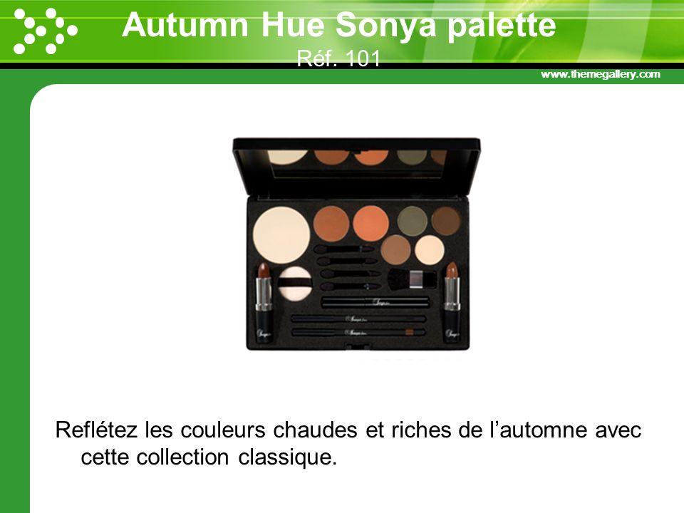 Autumn Hue Sonya palette Réf. 101