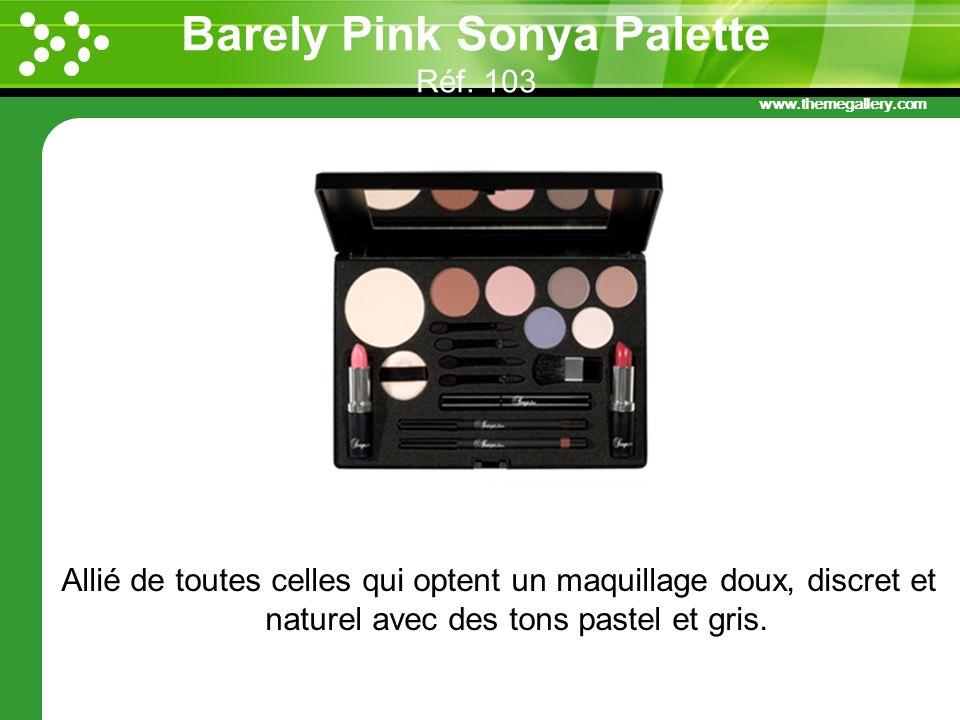 Barely Pink Sonya Palette Réf. 103