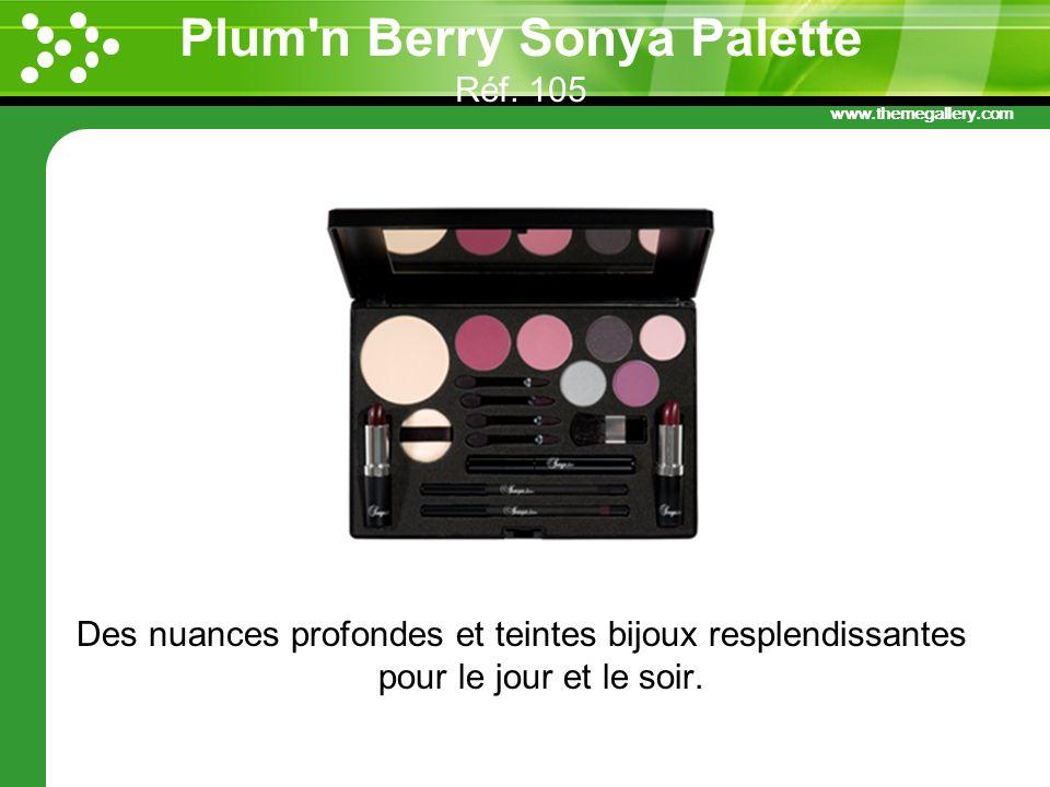 Plum n Berry Sonya Palette Réf. 105