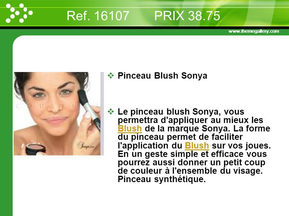 Ref. 16107 PRIX 38.75 Pinceau Blush Sonya