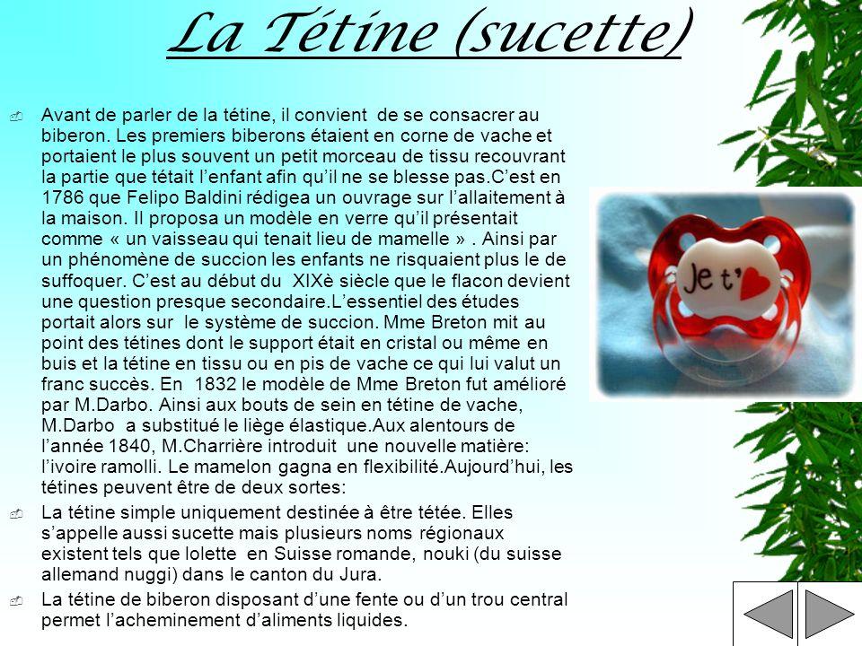 La Tétine (sucette)