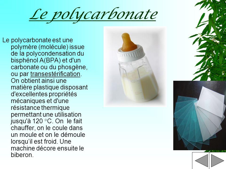 Le polycarbonate