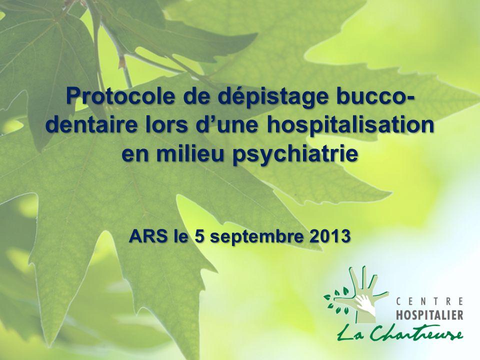 Pathologies orales en psychiatrie