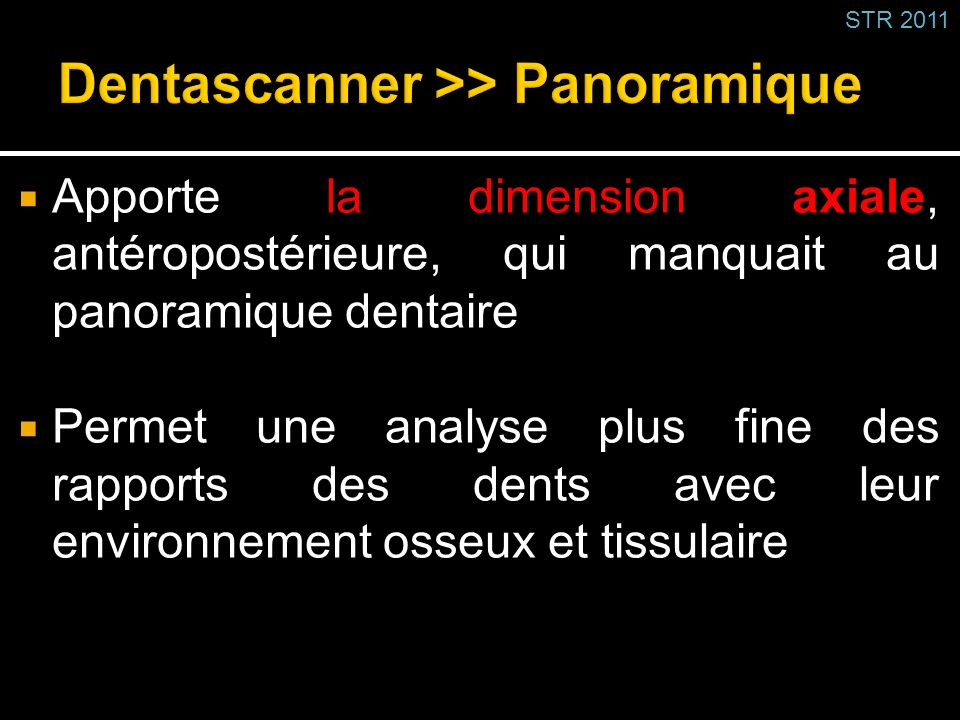 Dentascanner >> Panoramique