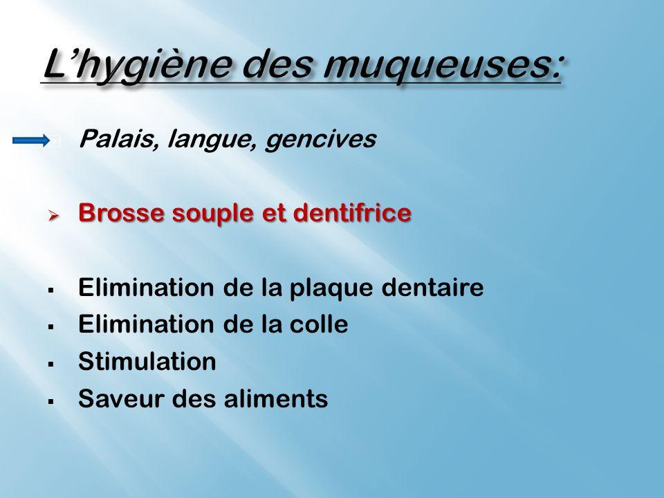 L'hygiène des muqueuses:
