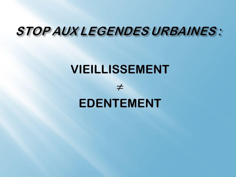 STOP AUX LEGENDES URBAINES :