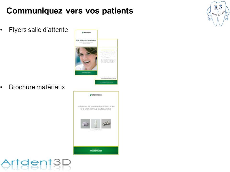 Communiquez vers vos patients