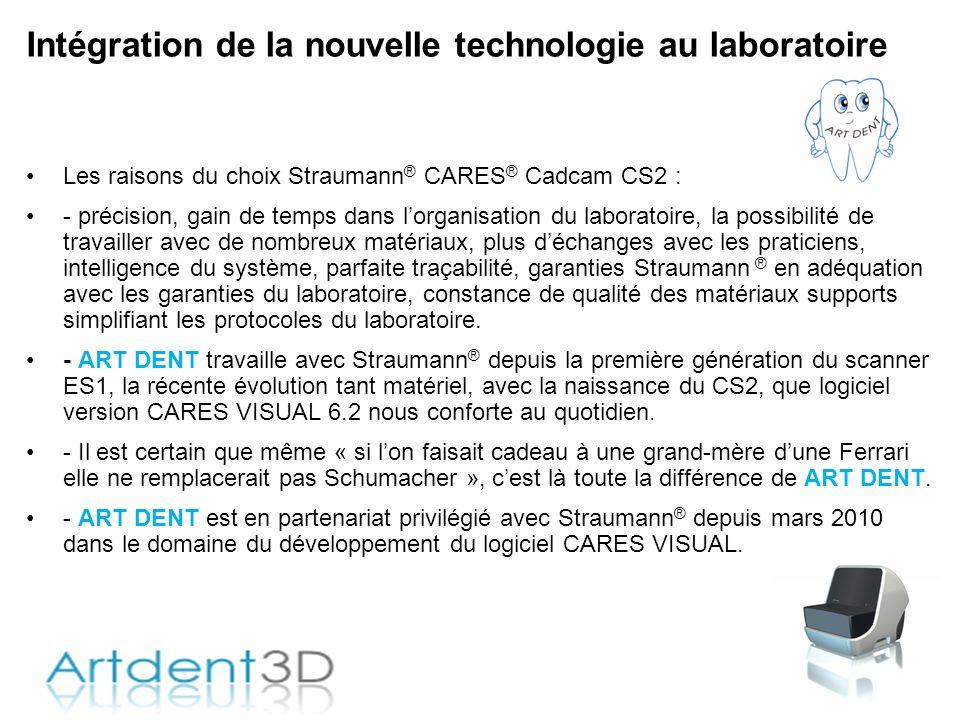 Intégration de la nouvelle technologie au laboratoire