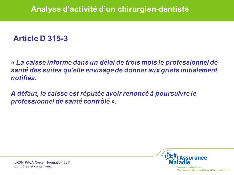 Article D 315-3