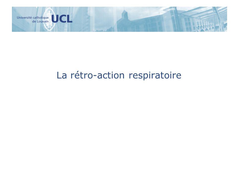 La rétro-action respiratoire