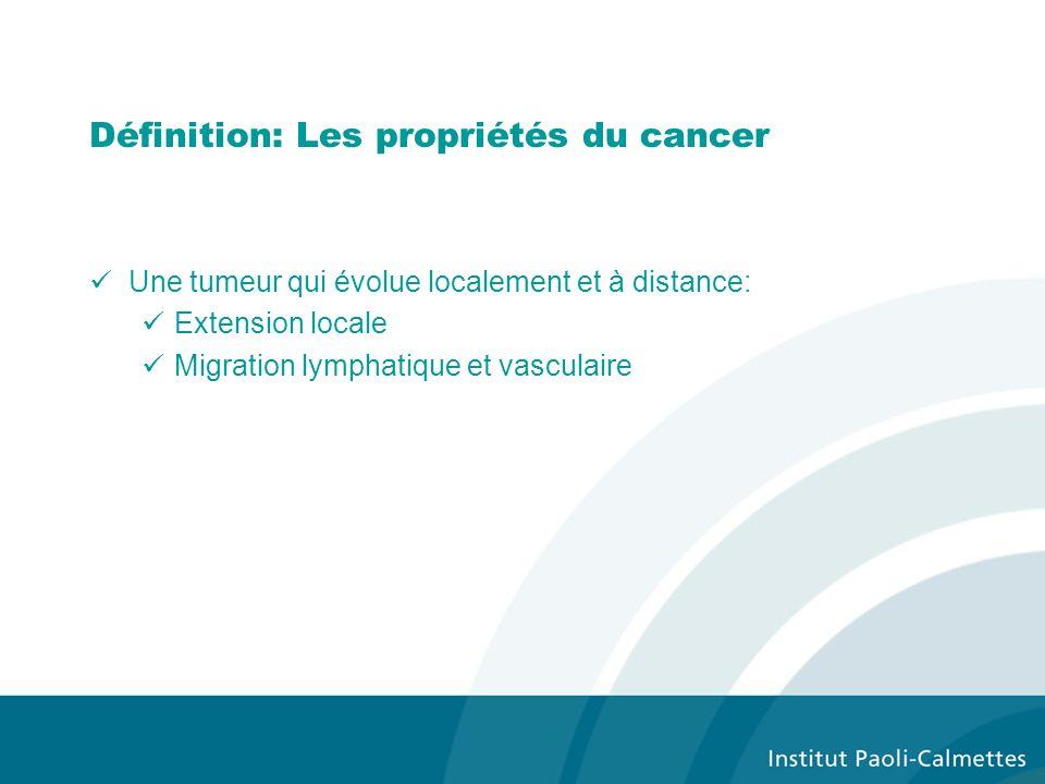 Définition: Les propriétés du cancer
