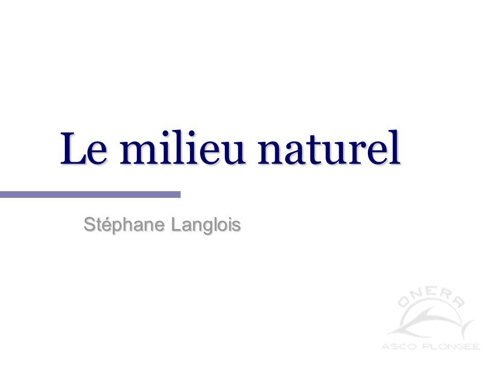 Notions de physique appliquée à la plongée. Stéphane Langlois