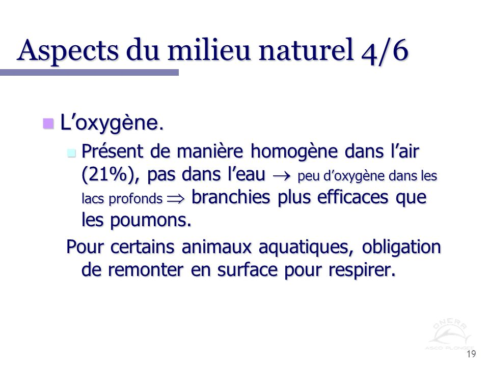 Aspects du milieu naturel 4/6