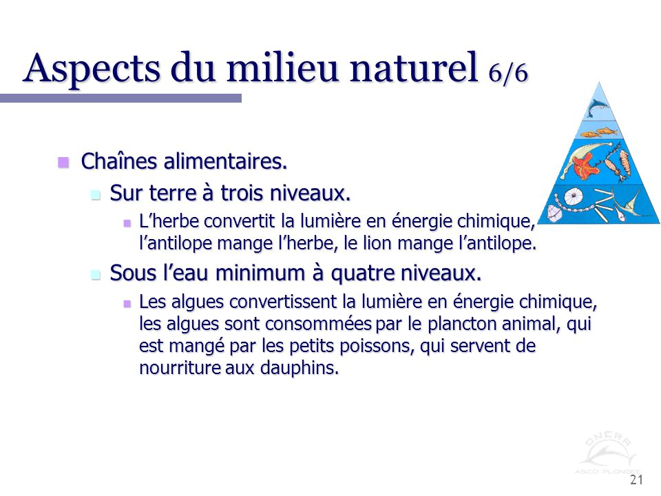Aspects du milieu naturel 6/6