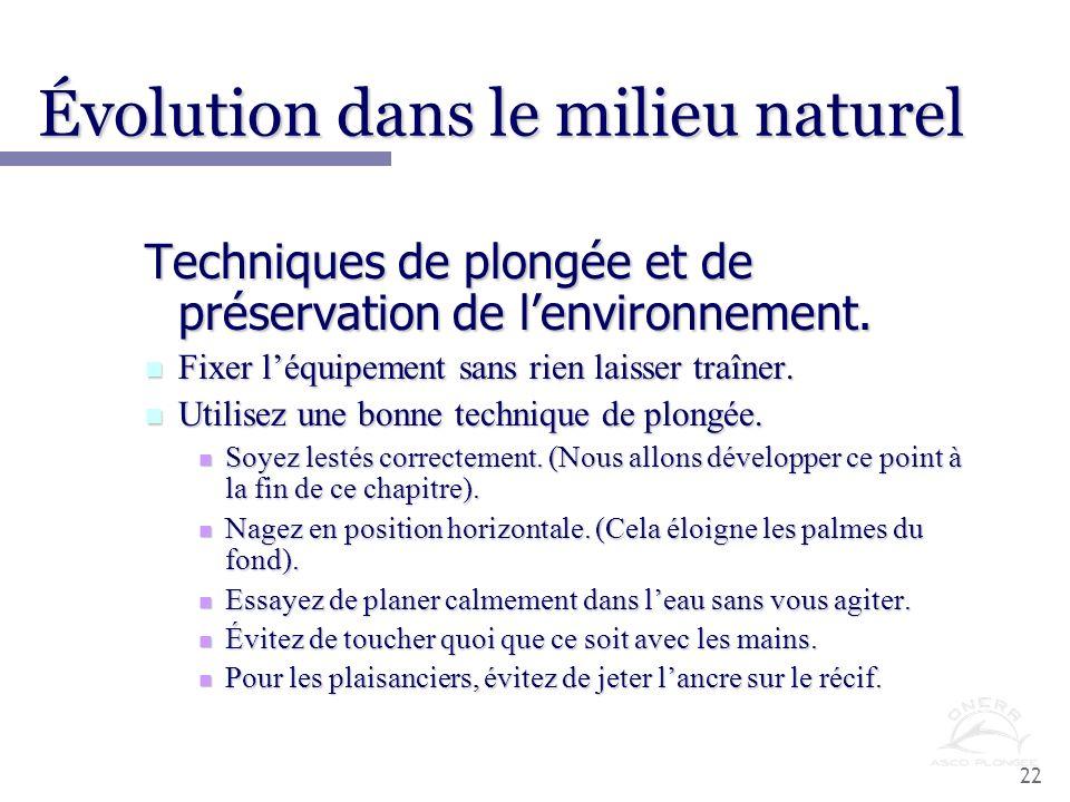 Évolution dans le milieu naturel