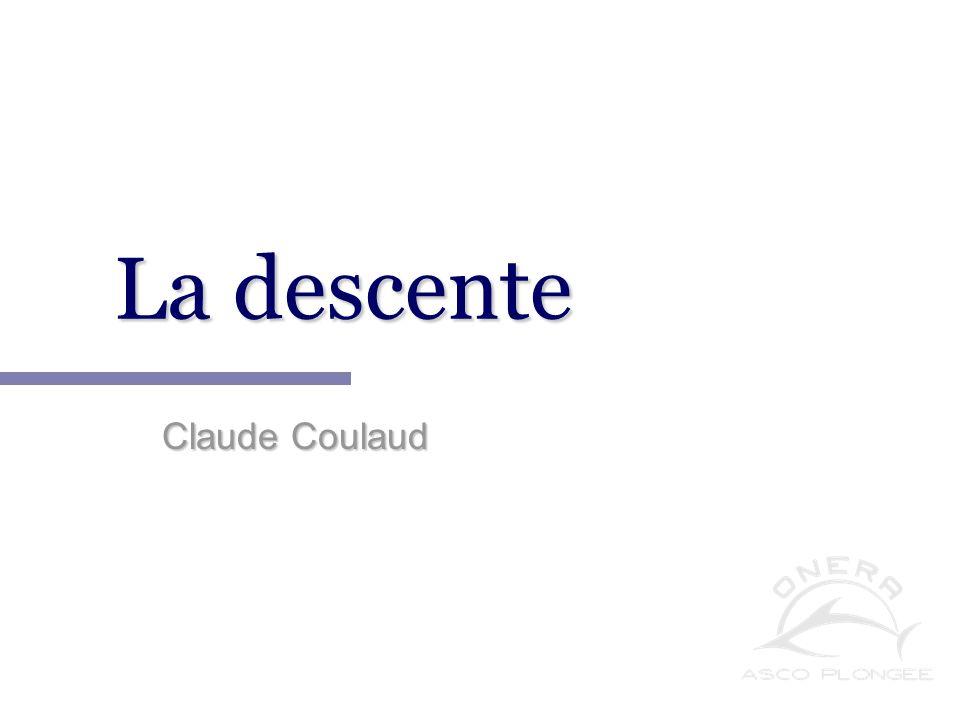 Notions de physique appliquée à la plongée. Claude Coulaud
