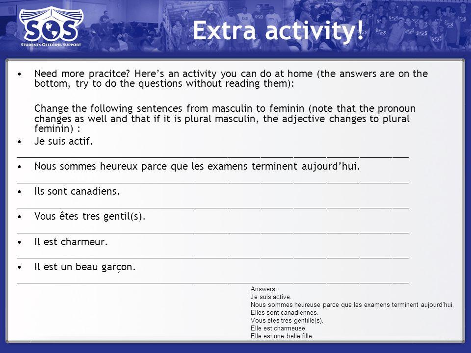 Extra activity!
