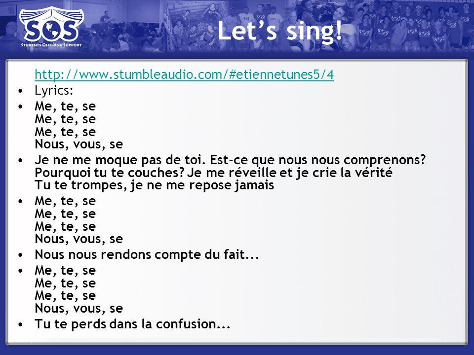 Let's sing! http://www.stumbleaudio.com/#etiennetunes5/4 Lyrics: