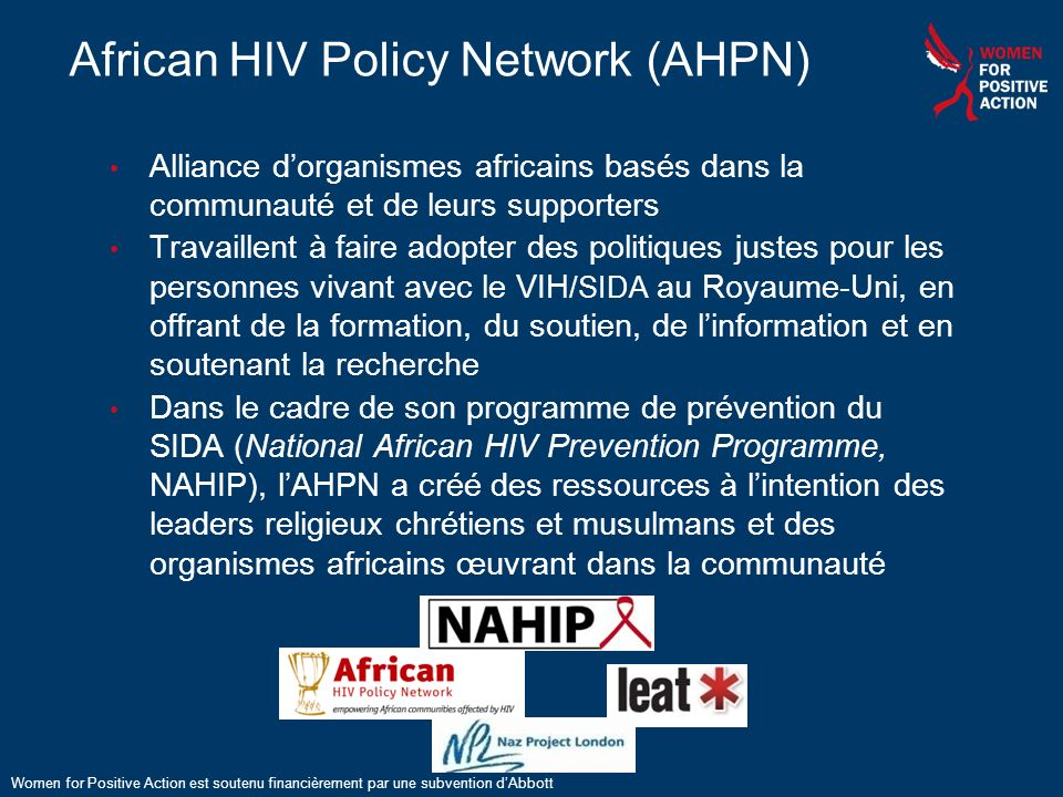 African HIV Policy Network (AHPN)