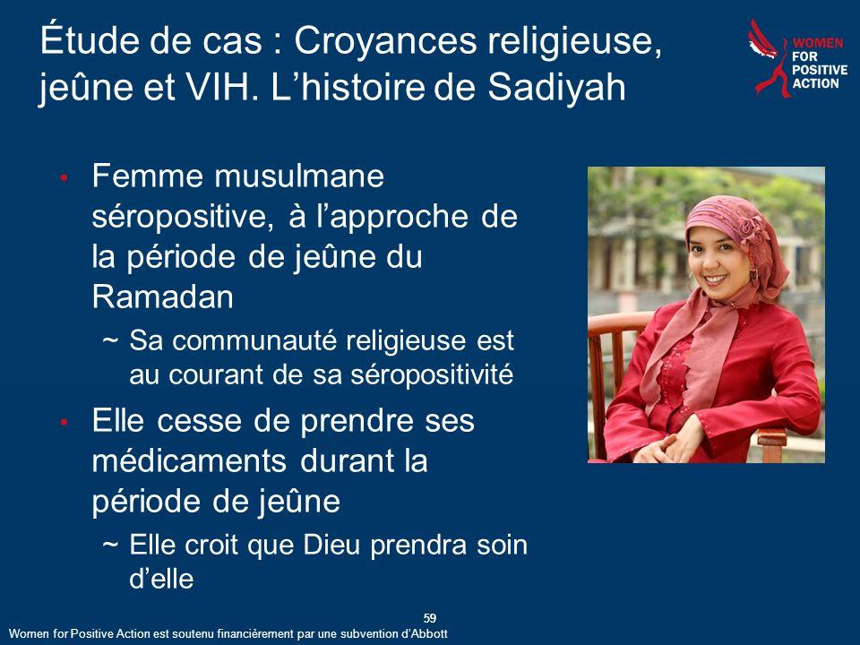 Étude de cas : Croyances religieuse, jeûne et VIH