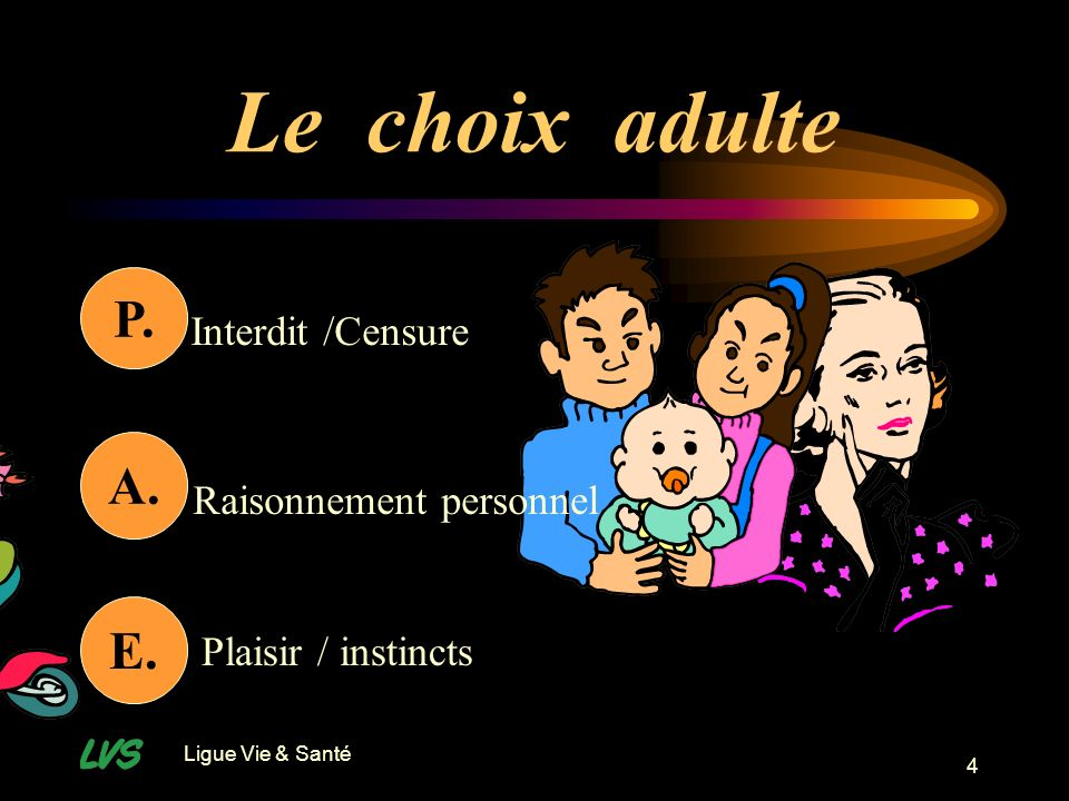 Le choix adulte P. A. E. P. Interdit /Censure