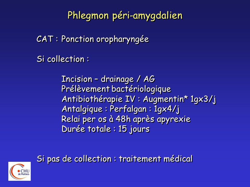 Phlegmon péri-amygdalien