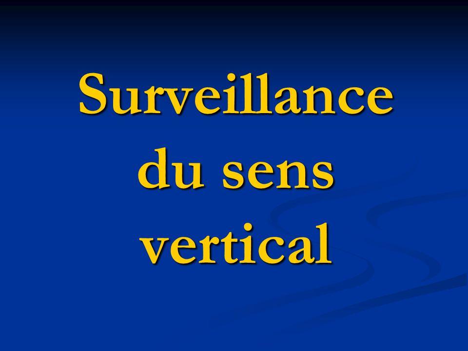 Surveillance du sens vertical