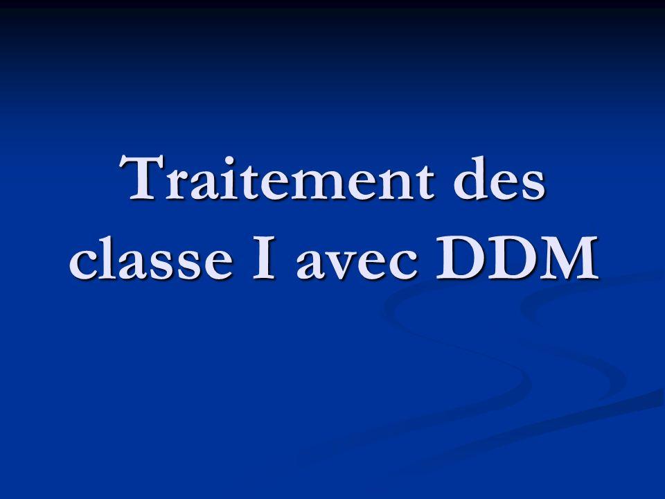 Traitement des classe I avec DDM