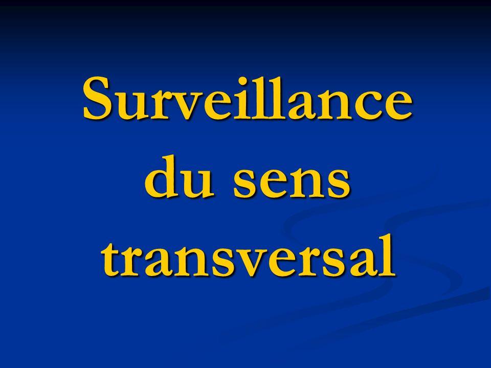 Surveillance du sens transversal