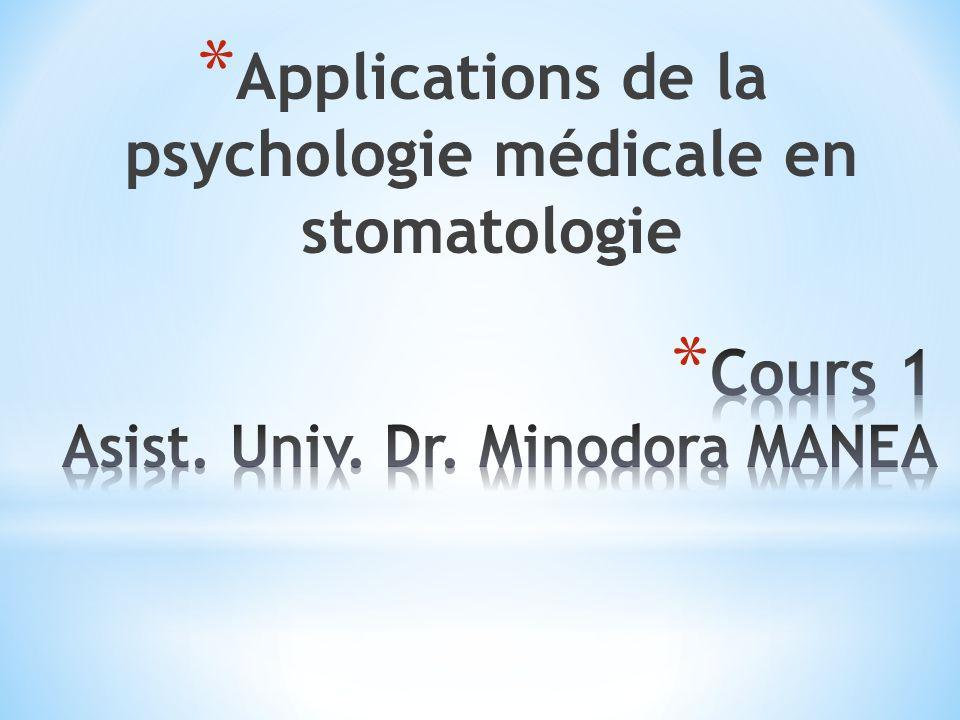Cours 1 Asist. Univ. Dr. Minodora MANEA