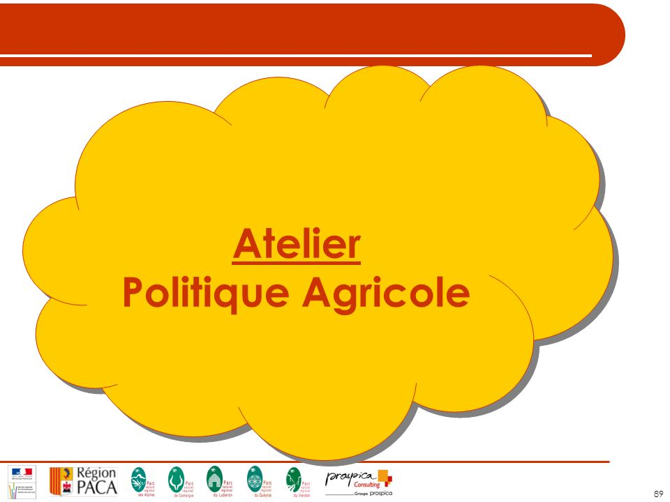 Atelier Politique Agricole