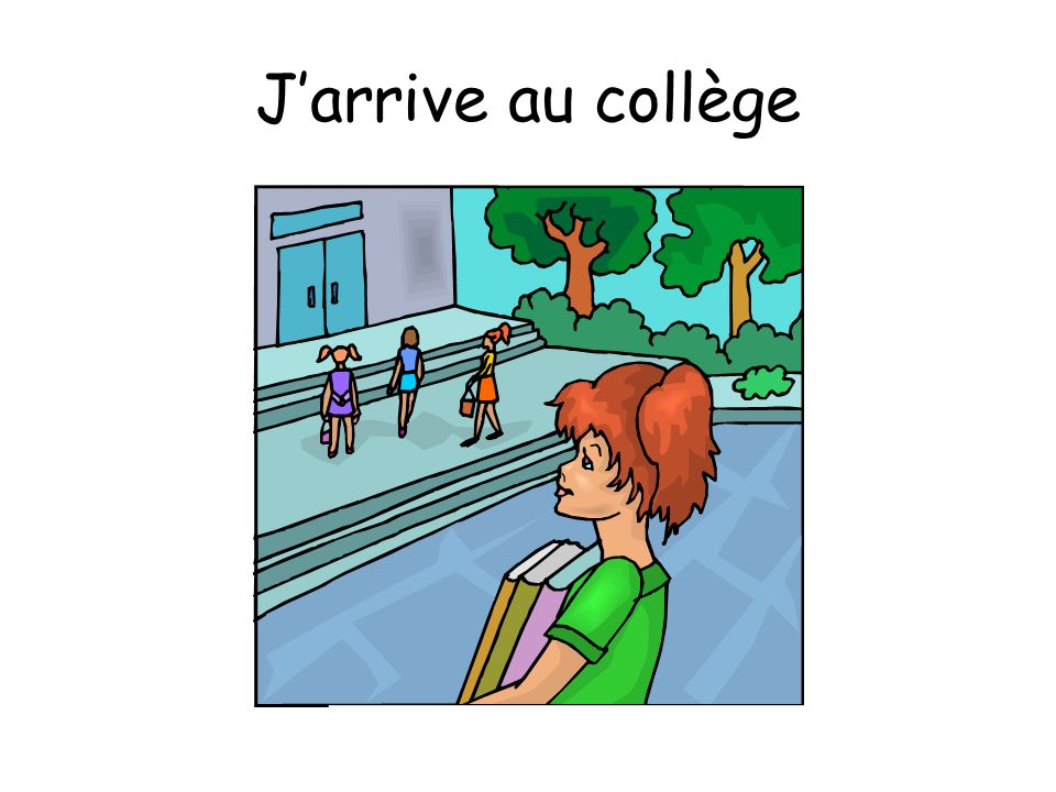 J'arrive au collège