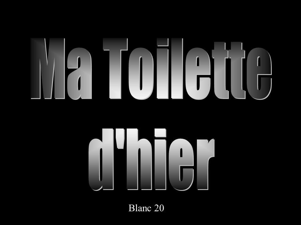 Ma Toilette d hier Blanc 20