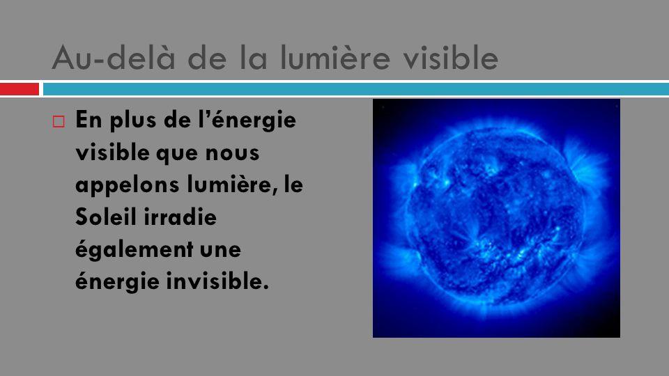Au-delà de la lumière visible