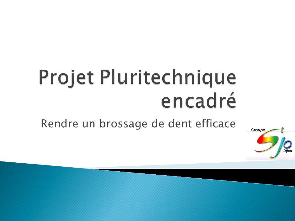 Projet Pluritechnique encadré