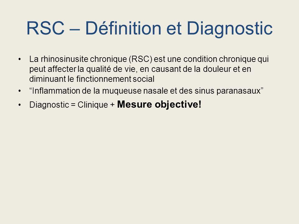 RSC – Définition et Diagnostic