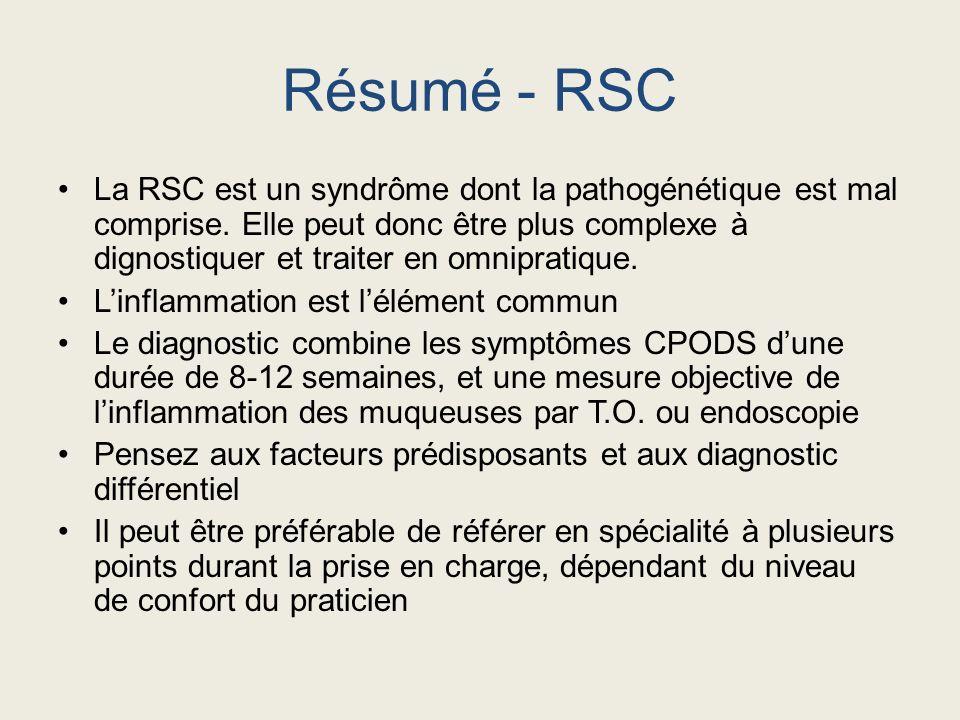 Résumé - RSC