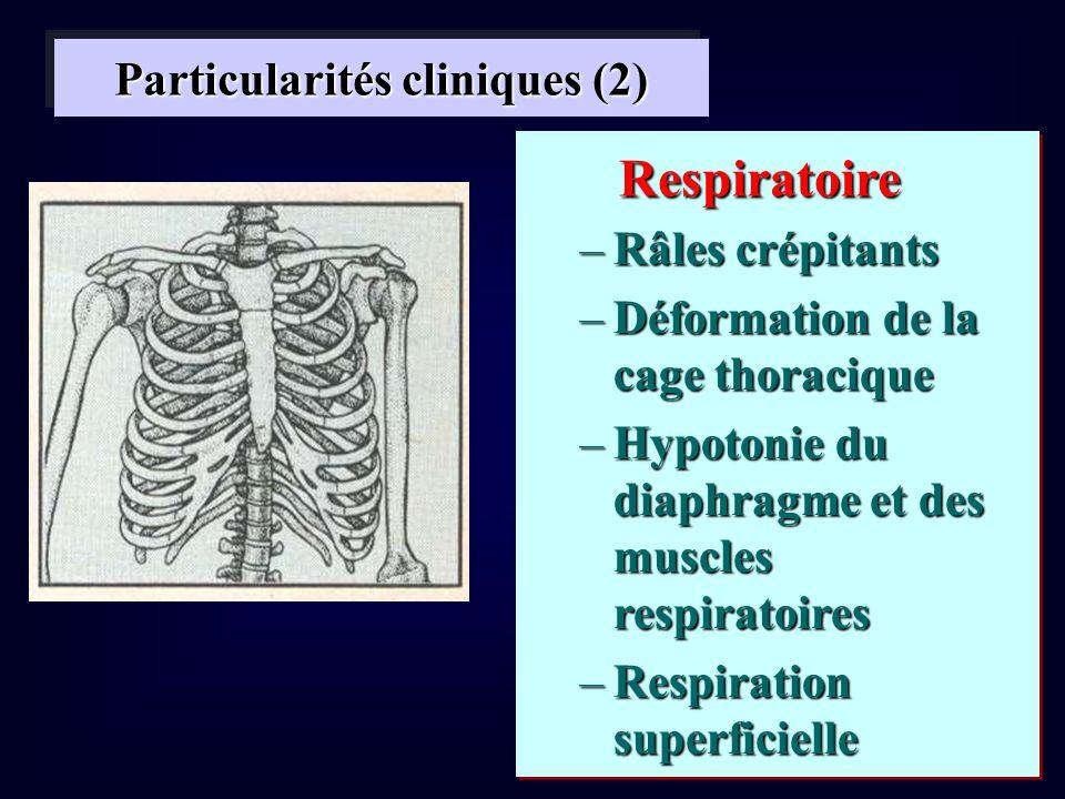 Particularités cliniques (2)