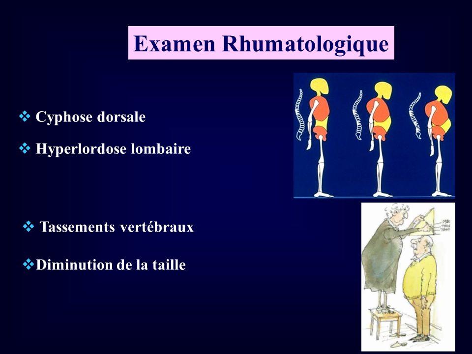 Examen Rhumatologique
